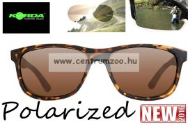 Korda Sunglasses Classics Matt Tortoise - Brown Lens Polarized napszemüveg (K4D05)