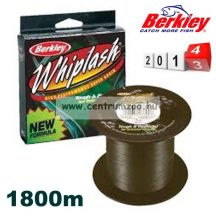 Berkley Whiplash Green Pro NEW 1800 méter 0,28mm zöld 44,9kg fonott