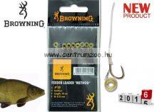 BROWNING Ready Rigs Hooks előkötött horog karikával 16-es méret 0,18mm 8db (4706016)