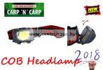 fejlámpa CARP ZOOM COB Headlamp fejlámpa fejlámpa (CZ8012)