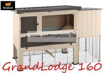 Ferplast Grand Lodge 160 Plus Brown nyúl és tengerimalac ketrec kültérre