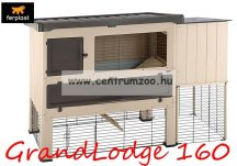 Ferplast Grand Lodge 160 Plus Brown nyúl és tengerimalac ketrec kültérre (57088200)
