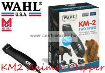 WAHL KM2 Animal Clipper Ergonomic erős nyírógép  csendes motorral (1247-0477) + AJÁNDÉK