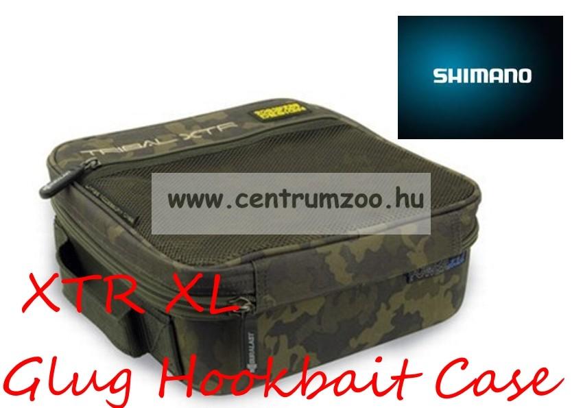 SHIMANO XTR XL Glug Hookbait Case dipes és szerelékes táska 27x26x13cm  (SHTRXTR12) a2593ace7a
