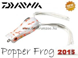 Daiwa D-Frog Popper 6,5cm béka műcsali - albino (15602-408)