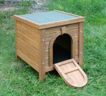 Kerbl SMALL ANIMAL HUTCH OUTDOOR nyúl, görény, kisállat ház 36x36x40cm (82740)