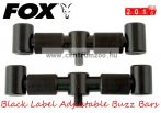 BUZZBAR Fox Black Label Adjustable Buzz Bars 3 Rod Adjustable 3botos 19-22cm (CBB020) kereszttartó