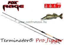 FOX Rage Terminator® Pro Jigger Term 245cm 8' 15-50g 2pc pergető bot (NRD195) ajándék wobbler