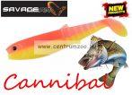 Savage Gear LB Cannibal 12.5cm 20g Bulk  gumihal YR Fluo  (57481)