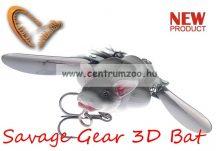 Savage Gear 3D Bat 12,5cm 54g Grey (57650) denevér formájú műcsali
