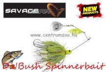 SAVAGE GEAR Da'Bush Spinnerbait 32g #3 Yellow Silver Holo Flame villantó (42148)