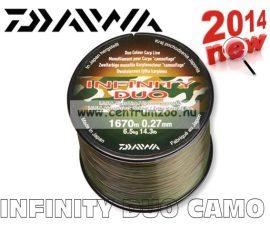 Daiwa Infinity Duo Camo 0,27mm 1670m 6,5kg prémium bojlis zsinór (12988-127)