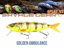 Savage Gear 4Play V2 Swim & Jerk 13,5cm 20g SF 06-Golden Ambulance gumihal (61730)