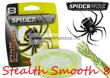 SpiderWire Stealth Smooth 8 Braid Yellow 150m 20lb 0,17mm 15,8kg
