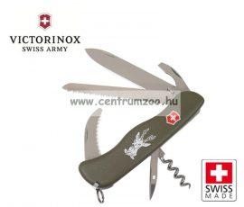Victorinox Adventurer - Safari Hunter Green csavarhúzós zsebkés, svájci bicska  0.8873.4