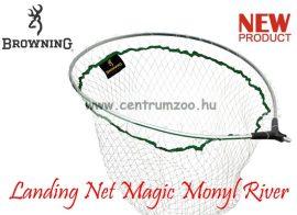 MERÍTŐFEJ  Browning Landing Net Magic Monyl River Scooper L 55x45cm (7029010)