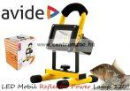 keresőlámpa Avide LED Mobil Reflektor Power Lamp 120° 4000K 10W kézi lámpa (ABRFLNW-10W)