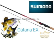 Shimano bot CATANA EX Spinning 2,4m Medium pergető bot (SCATEX24M) 10-30g