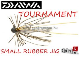 DAIWA TOURNAMENT SMALL RUBBER JIG SS jigfejes horog  (15602-001) - watermelon