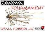 DAIWA TOURNAMENT SMALL RUBBER JIG SS jigfejes horog  (15602-001) - watermelon