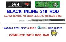 MAD CAT MADCAT BLACK INLINE 210 - 2.10m 20-30lb 2r harcsás bot (55848)
