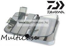 DAIWA Premium Multi Case 122ND 12.2x9.7x3.4cm aprócikkes doboz biztos zárással (15807-123)