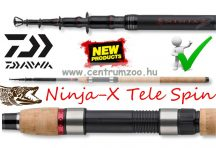 Daiwa Ninja-X Tele Spin 3,0m 15-45g teleszkópos pergető bot (11633-300)