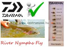 Daiwa River Nymphs Selection DFC-4 műlégy szett NEW Collection (195624)