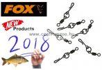 Fox EDGES™ Kwik Change O Ring Swivels size 7  forgókapocs 10db  (GAC674)