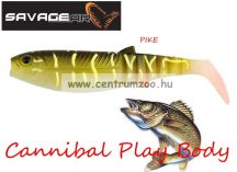 SAVAGE GEAR LB Cannibal Play Body  8cm gumihal Pike (58988)