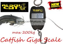 MÉRLEG - Black Cat Catfish Giga Digi Scale mérleg 200kg 2m (9800001)