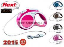 Flexi Vario NEW M PINK 8m 20kg automata póráz -rózsaszín