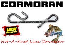 Cormoran NOT-A-KNOT Line Connector Knotless CSOMÓMENTES KAPOCS 10db L (80-15201)