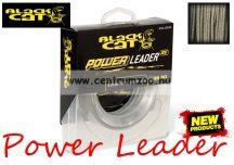 BLACK CAT POWER LEADER  20m 1,20mm 100kg előkezsinór - harcsás előke zsinór (2342100)