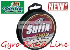 Sufix Gyro Braid NEW fonott zsinór 0.14mm/5,4kg deep green 135m
