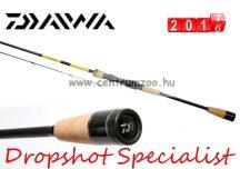 """Daiwa Specialist Dropshot 6'6"""" 2pc 1,98m 1-9g pergető bot (DDS662ULS)(200493)"""