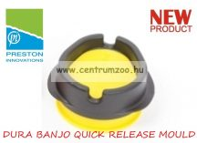 PRESTON DURA BANJO QUICK RELEASE MOULD töltő (PBM/L) LARGE