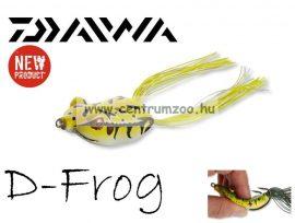 Daiwa D-Frog 6cm béka műcsali - yellow toad (15605-206)