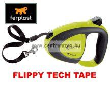 Ferplast Flippy Tech Deluxe Tape Medium Green szalagos póráz - ZÖLD