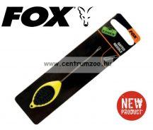 fűzőtű - FOX Edges Gated needle - YELLOW fűzőtű (CAC590)