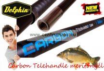 MERÍTŐNYÉL Delphin Carbon Telehandle feederes merítőnyél 260cm  3 tag (941001560)