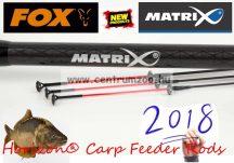Fox Matrix Horizon® Carp Feeder Rods  9ft 2,7m feeder bot (GRD106) + method kosárszett