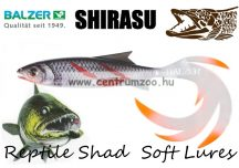 Balzer Shirasu Soft Lures Reptile Shad gumihal 11cm 6g (0013673111) Bloody Minnow