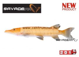 Savage Gear 3D Line Thru Pike 30cm 210g 02-Albino Pike gumihal (50433)