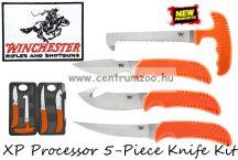 Winchester® XP Processor 5-Piece Knife Kit vadász bontó szett Amerikából (003752)