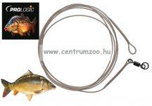 Prologic LM Mirage Loop Leader 100cm 35lbs W/Ring Swivel 2db (54223)