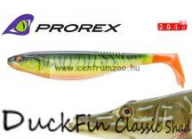 Daiwa Prorex DuckFin Classic Shad 100DF BB  prémium gumihal  7,5cm - Firetiger (16720-000)