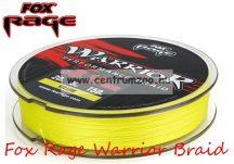 Fox Rage Warrior Braid 150m 0,12mm 7kg 15lb fonott zsinór fonott zsinór (NBL065)