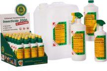 Insecticide 2000 utántöltő 1000ml 1 liter rovarölő (kullancs, bolha, tetü, atka, hangya, légy, moly)