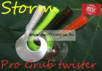 "Storm Pro Grub 5"" twister gumihal  12,5cm (PRGR05)"
